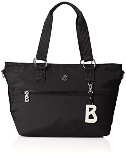 Bogner Damen Verbier Gesa Handbag Shz Henkeltasche Schwarz (Black)