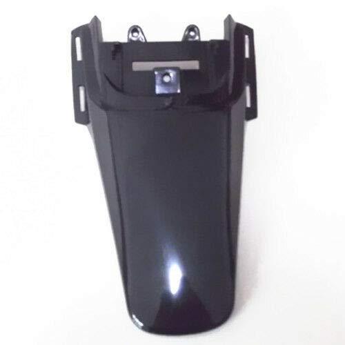 epeigo Guardabarros trasero de plástico negro para motocicleta Honda XR ATV Scooter Offroad Custom Touring