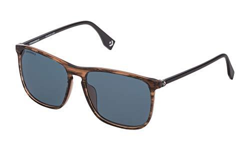 Converse SCO140566BAP Gafas, Striped Bicolor Brown, 56/16/145 para Hombre