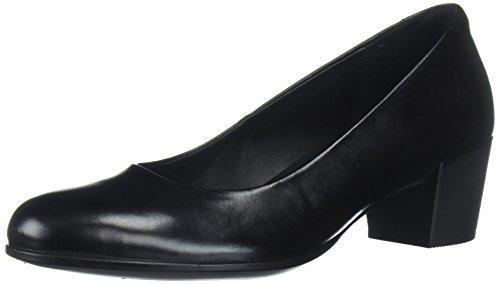 ECCO Shape M 35, Scarpe con Tacco Donna, Nero (Black), 38 EU