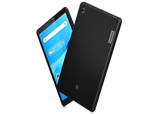 "Lenovo Tab M7 Tablet, Display 7"" HD, Processore MediaTek MT8765, 16GB espandibili fino a 128GB, 1GB RAM, WiFi+LTE, Android Pie, Nero (Onyx Black)"