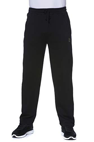 JP 1880 Homme Grandes Tailles Pantalon de Jogging élastiqué mélangé Coton Noir 6XL 702635 10-6XL