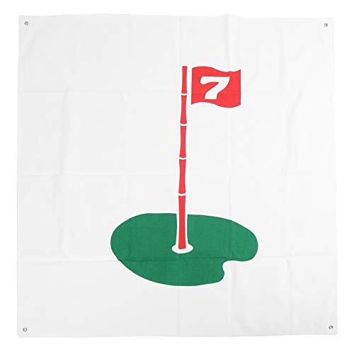 VGEBY Golf Hit Target Hanging Golf Target Durable Golf Hitting Net Target for Golf Indoor Outdoor Training (flag)