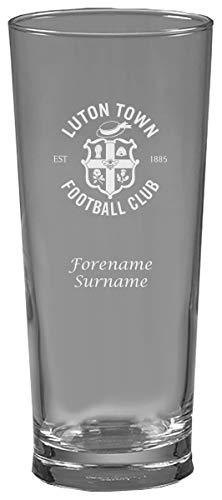 Luton Town FC - Vaso de cerveza personalizable
