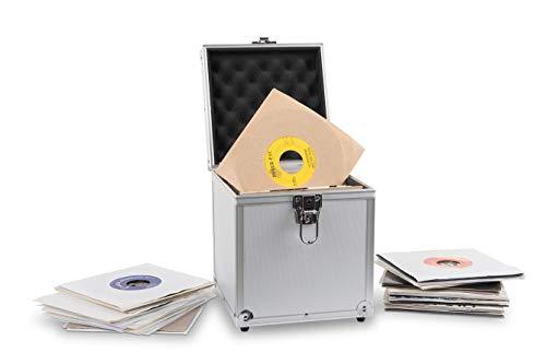 Acc-Sees Pro Vinyl 45 - Caja de almacenamiento para discos