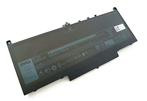 Dell Laptop-Akku, Li-lon 4 Zellen, 55Wh, mAh 8800 7.6v, 4C, Type J60J5 Index: GG4FM 242WD MC34Y J60J5