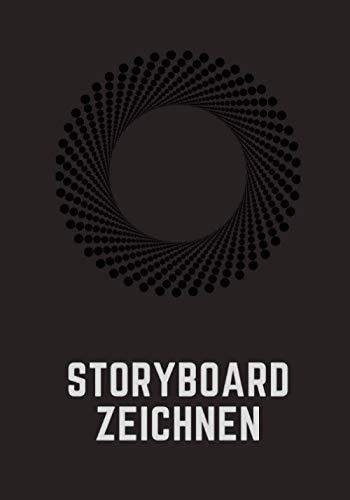 Storyboard Zeichnen: Storyboard für Film, Fernsehen und Video I 124 Seiten 7x9 (17,78 x 25,4 cm) I 4 Storyboard-Rahmen pro Seite