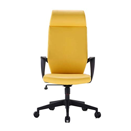 WY office chair Table table lift chair armchair armchair computer system desk office chair assembly chair back home chair back office chair ( Color : Yellow )