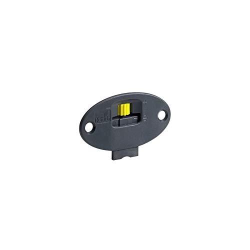 SlideLine 55 Plus Laufteil zum Anschrauben für Schränke mit 1 vorliegenden (gefälzten) und 1 einlieg