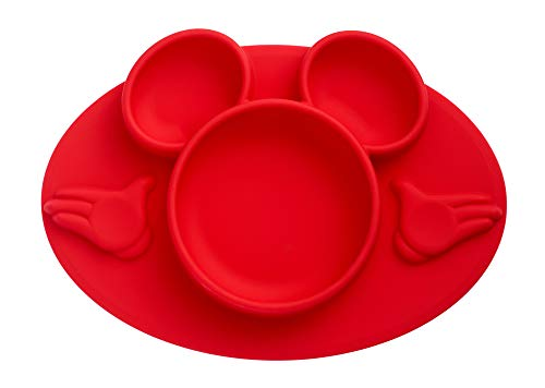Price comparison product image The First Years Disney Mickey Mouse Silicone Place-mat,  Red