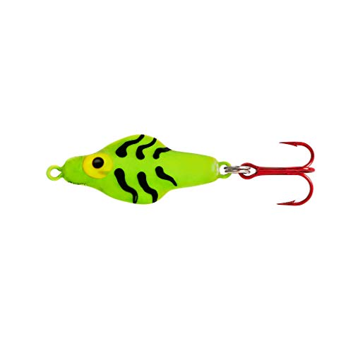 Lindy Rattl'N Flyer Spoon Hybrid Ice Fishing Lure...