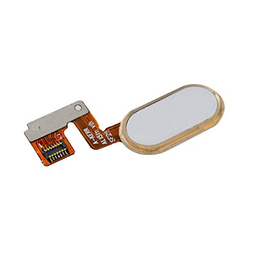 Nuevo Meizu M3 de la nota/Meilan Nota 3 Botón Inicio/sensor de huellas dactilares cable flexible (14 Pin) (Negro) Cherishsun (Color : Gold)