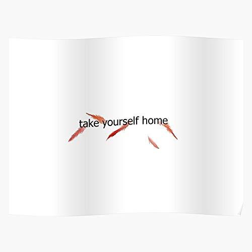 Troye Home Song Sivan Blue Yourself Neighborhood Music Album Take Geschenk für Wohnkultur Wandkunst drucken Poster 11.7 x 16.5 inch