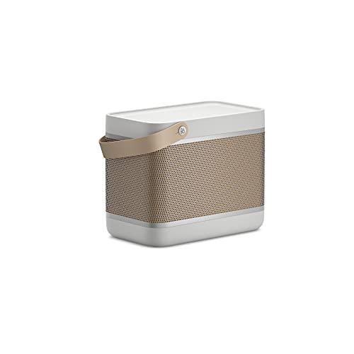 Bang& Olufsen Beolit20 leistungsfähiger tragbarer Bluetooth-Lautsprecher, Grey Mist