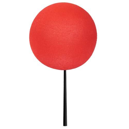 """Tenna Tops - Plain Red Car Antenna Topper/Antenna Ball/EVA Foam Craft Ball (1.75"""" Inch Diameter)"""