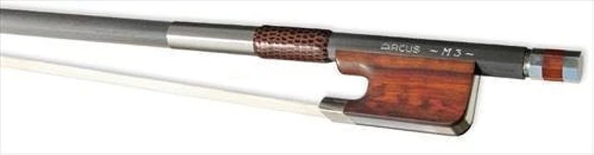 Arcus Cello Bow M3 Round Nickel Silver, Carbon Fibre 4/4 Full Size