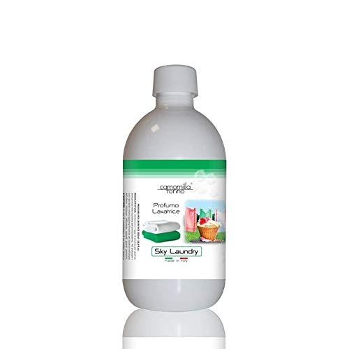 Parfüm für die Waschmaschine, Duft für die Waschmaschine, 500 ml, Wäscheduft, Wäscheparfüm, Made in Italy (Sky Laundry)