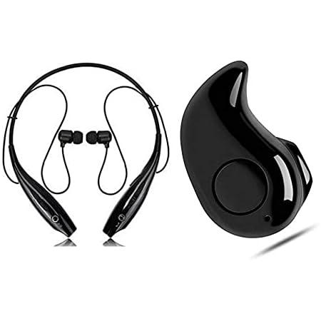 ONKARONUS ONKAR-530$ Wireless Bluetooth In Ear Neckband Earphone with Mic (Black)