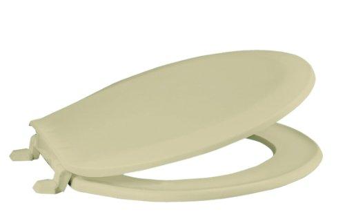 Premier Faucet 283026 Round Plastic Toilet Seat, Bone