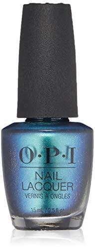 OPI Nail Lacquer, Long Lasting Nail Polish, Blues,