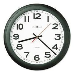 MIL625320 - Wall Clock, Glass Lens - Howard Miller Norcross Auto Daylight-Savings Wall Clock - Each