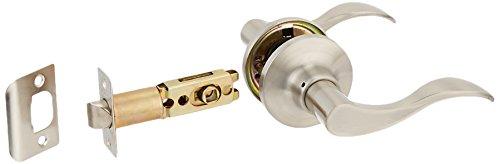 Constructor CON-PRE-SN-PS Prelude Passage Lever Door Lock with Knob Handle Lockset, Satin Nickel