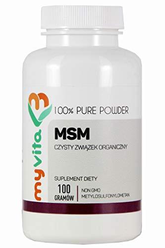MSM Organic Sulphur Compound 100g MyVita