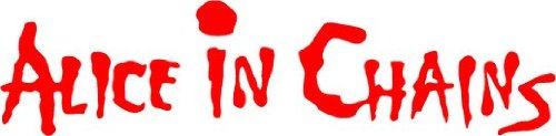 Alice in Chains Rock Music Alta Calidad De Coche De Parachoques Etiqueta Engomada 20 x 5 cm