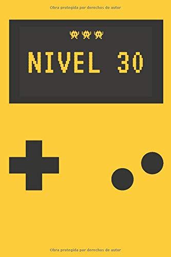 Regalo Cumpleaños Hombre - Nivel 30 - Libreta para Gamers: Regalo Original y Barato para Cumpleaños de Hombre | Agenda de 120 páginas | Diario de ... personalizado | Temática Videojuegos Arcade