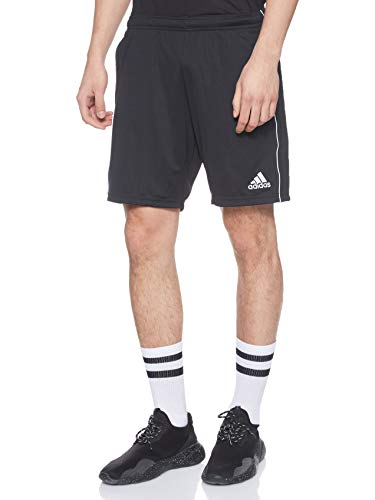 adidas Core 18 Training, Pantaloncini Uomo, Nero (Black/White), M