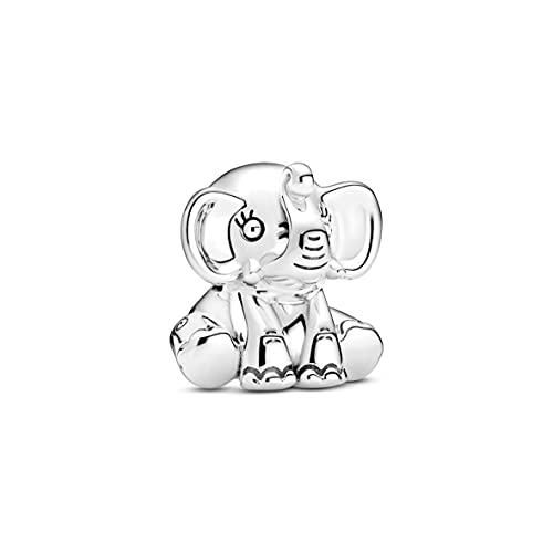 Pandora Friends Ellie - Colgante de elefante de plata de ley