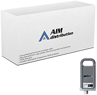 AIM Compatible Replacement for Canon PFI-306MBK Matte Black Wide Format Inkjet (700 ML) (6656B001AA) - Generic