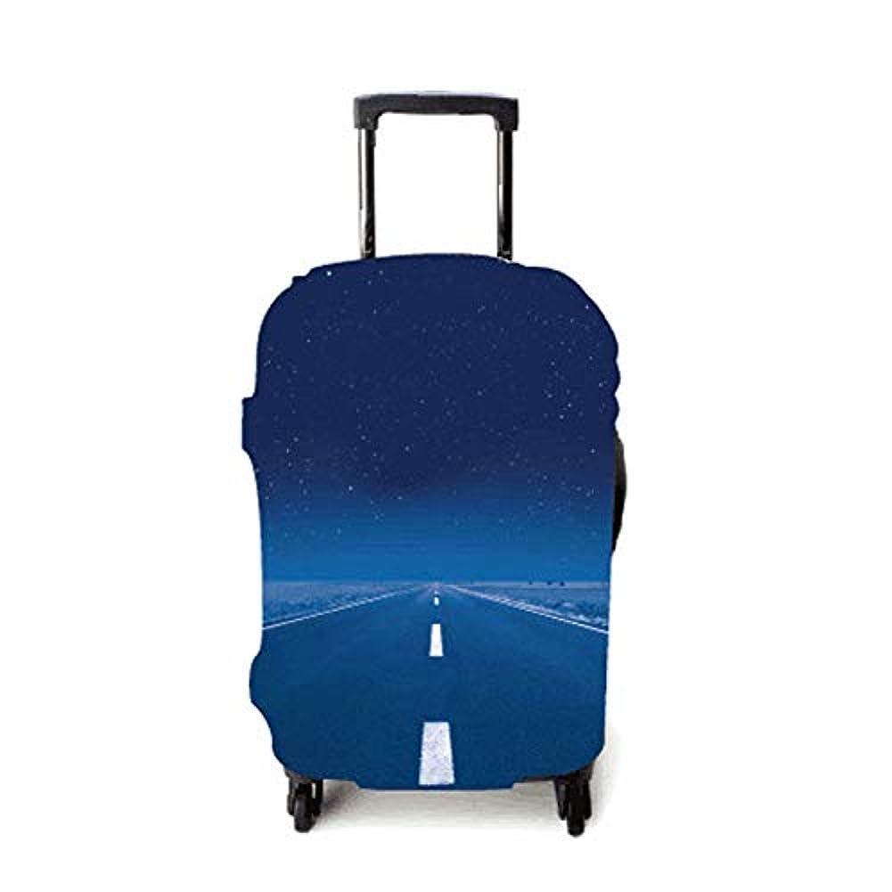 疑わしい保険弱めるスーツケースカバー 伸縮弾性素材 トラベルダストカバー スーツケース保護カバー 通気性 傷防止 防塵カバー 1枚