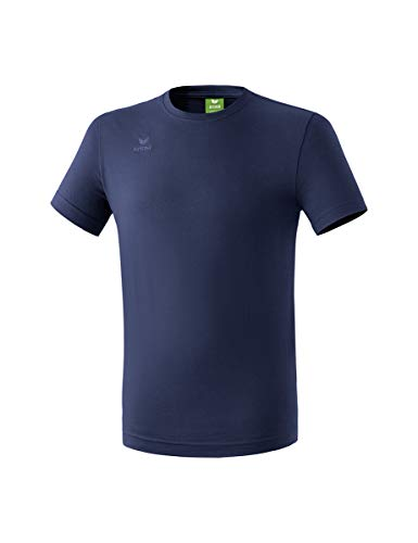 Erima Casual Basics T-Shirt Homme, New Navy, FR : L (Taille Fabricant : L)