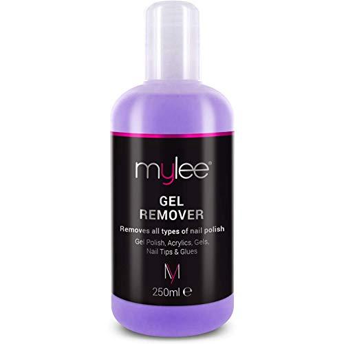 Mylee Gel-nagellakverwijderaar Azeton 250 ml, professionele UV-led-nagellakverwijderaar voor manicure en pedicure