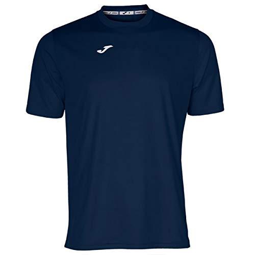 Joma Combi Camisetas Equip. M/C, Hombre, Marino Oscuro, S