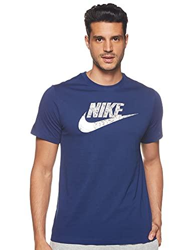 Nike Air, T-Shirt Uomo, Black/(White), M