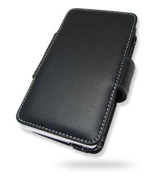 Melkco Leder Tasche für  Nintendo NDSi - Book Type (Black)