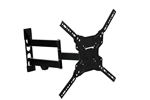 stanley tv stands Stanley TV Wall Mount - Slim Full Motion Articulating Mount for Large Flat Panel Television 23