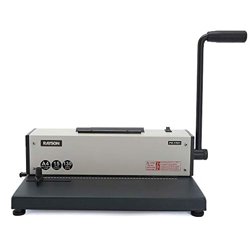 Rayson PD1501 Coil Binding Machine with Electric Coil Inserter