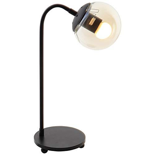 Lampe de table moderne haricot magique verre rond E27 lampe de bureau chambre à coucher chevet dortoir décoration salon bureau lumière protection des yeux 110-240V