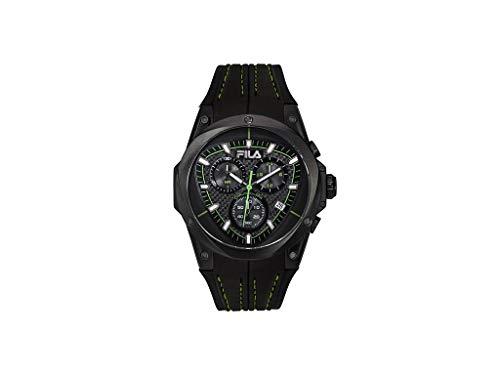 Fila Unisex Erwachsene Analog Quarz Uhr mit Silikon Armband FILA38-821-005