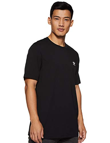 adidas Essential T T-Shirt Homme, Black, FR : S (Taille Fabricant : S)