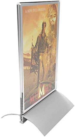 Miami Mall Our shop most popular FixtureDisplays ONE Unit 4 x 6 Acrylic Aluminum Holder Sign with