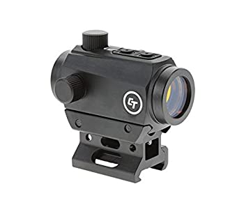 Crimson Trace CTS-25 Compact Sight with 4 MOA LED Red Dot Reticle and 1x Magnification for Rifles Long Guns Defense and Competition