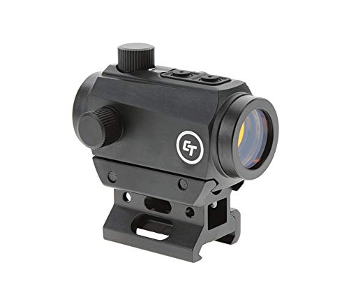Crimson Trace CTS-25 Compact Sight with 4 MOA LED Red Dot Reticle and 1x Magnification for Rifles, Long Guns, Defense and Competition