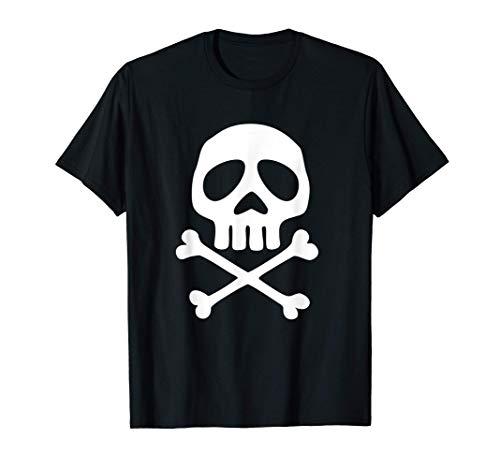 Camiseta con calavera de pirata.