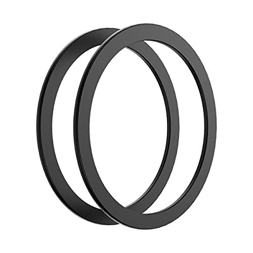 Mophie - Adaptador a presión - Añade compatibilidad magnética a Cualquier Smartphone - para Smartphones, iPhone, Google Pixel, Samsung Galaxy, Dispositivos habilitados para Qi - Negro