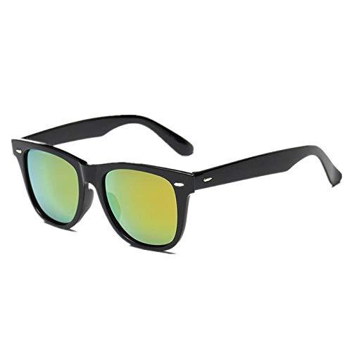 Gafas De Sol Gafas De Sol con Montura Negra Gafas De Sol para Hombres Gafas De Sol para Mujer Gafas De Sol Gafas De Sol para Hombre Oro