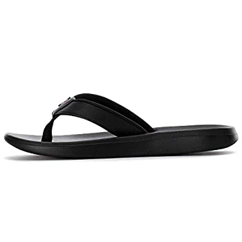 Nike Women s Bella Kai Flip Flops  6 M US Black/Hyper Pink